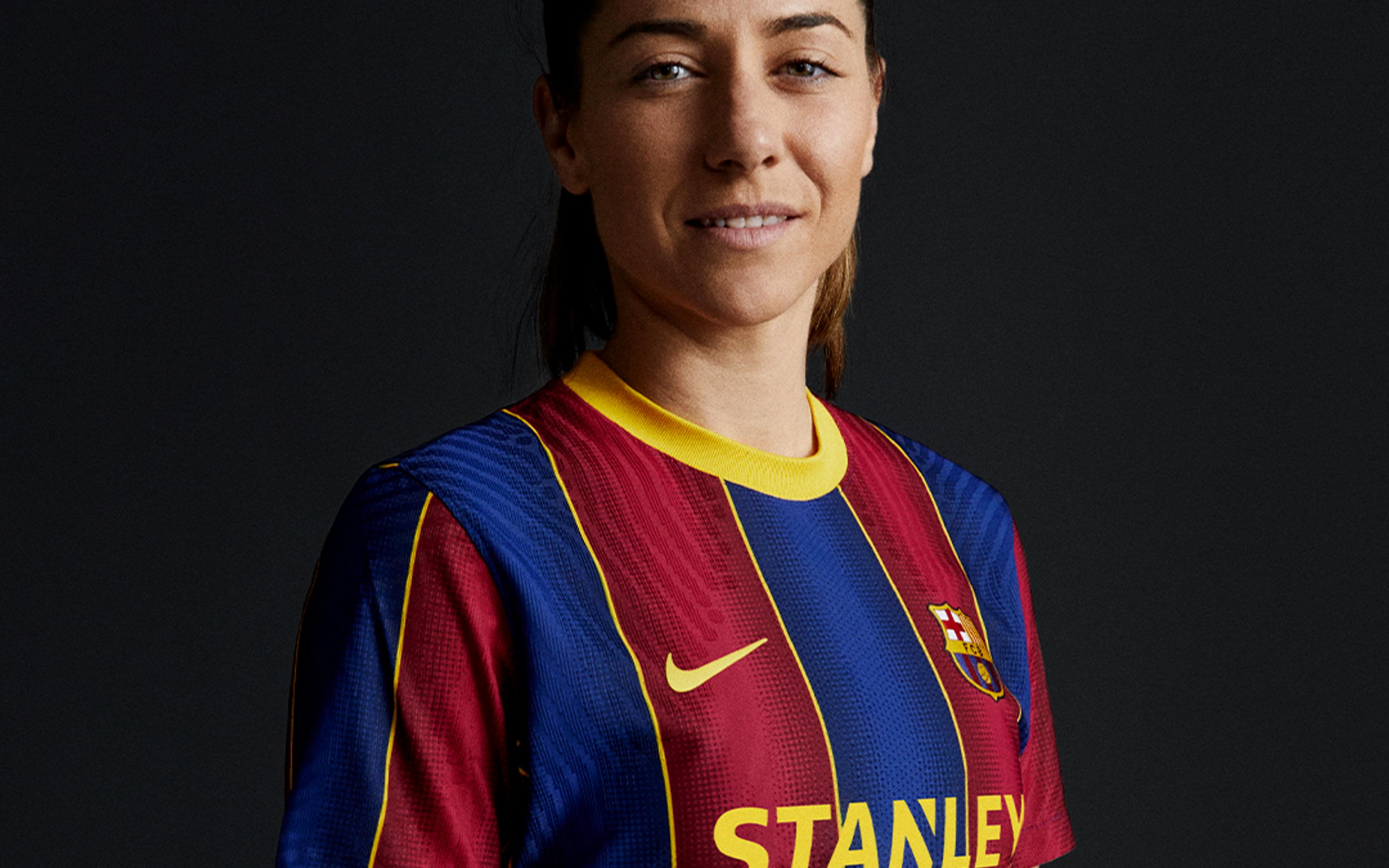 Losada, amb la nova samarreta del Barça   FC Barcelona