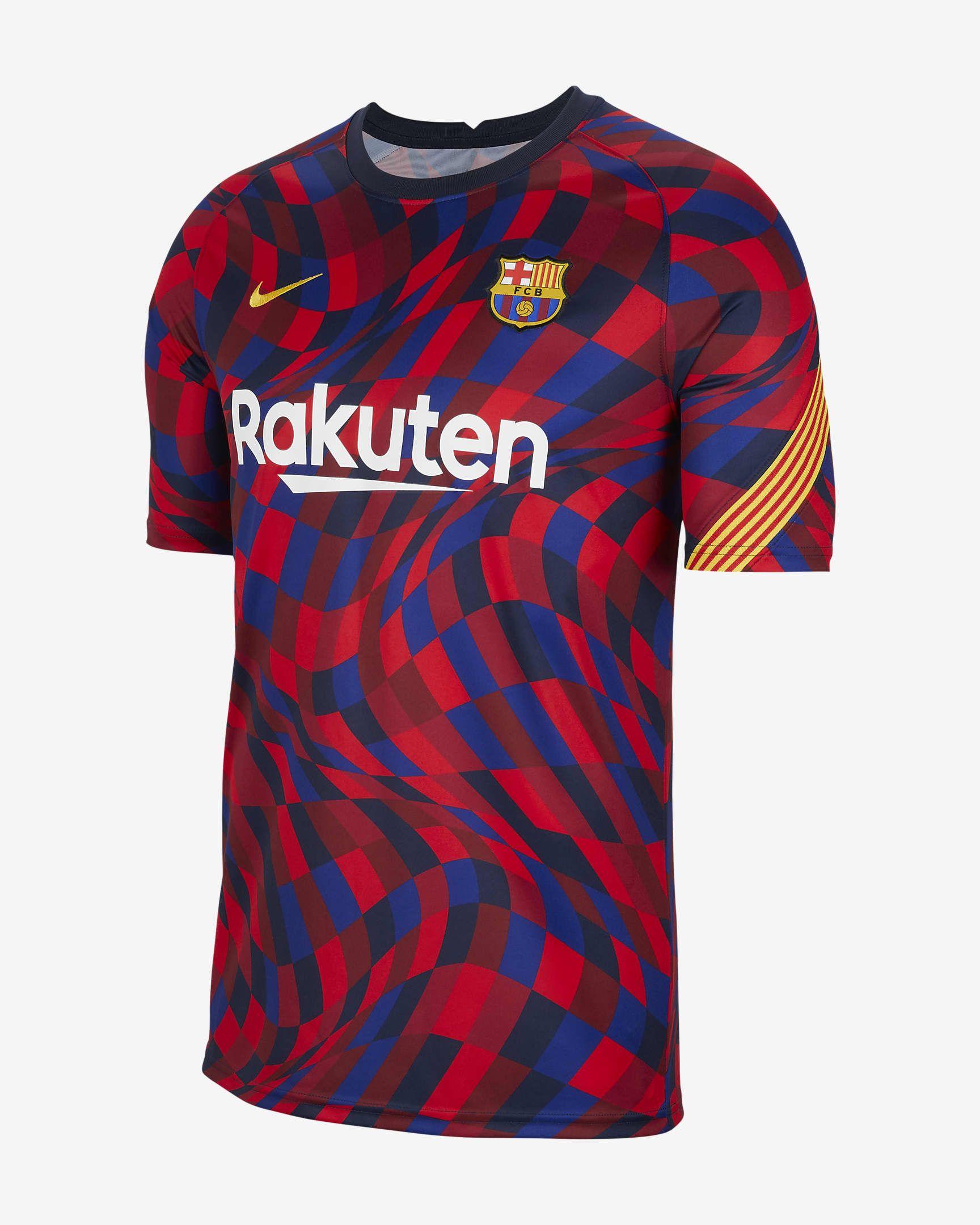 La nova samarreta prepartit del Barça | NIKE