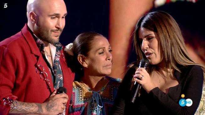 Kiko Rivera, Isabel Pantoja i Chabelita  Telecinco