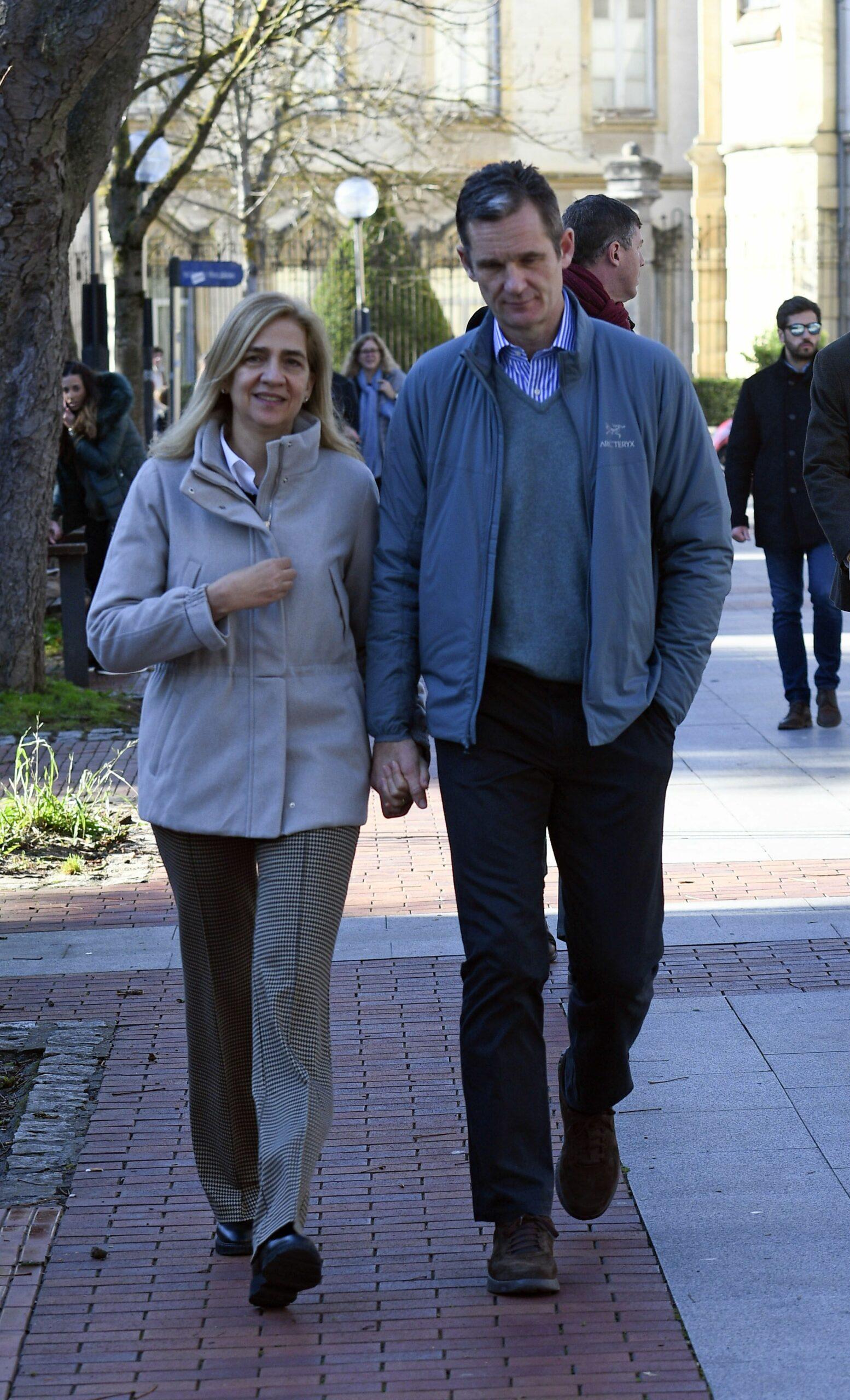 La infanta Cristina i Iñaki Urdagarin passen el Nadal a Vitòria  Europa Press