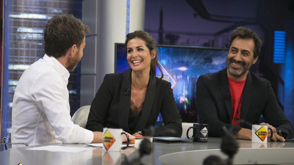 Nuria Roca i el seu marit, a 'El Hormiguero'   Antena 3