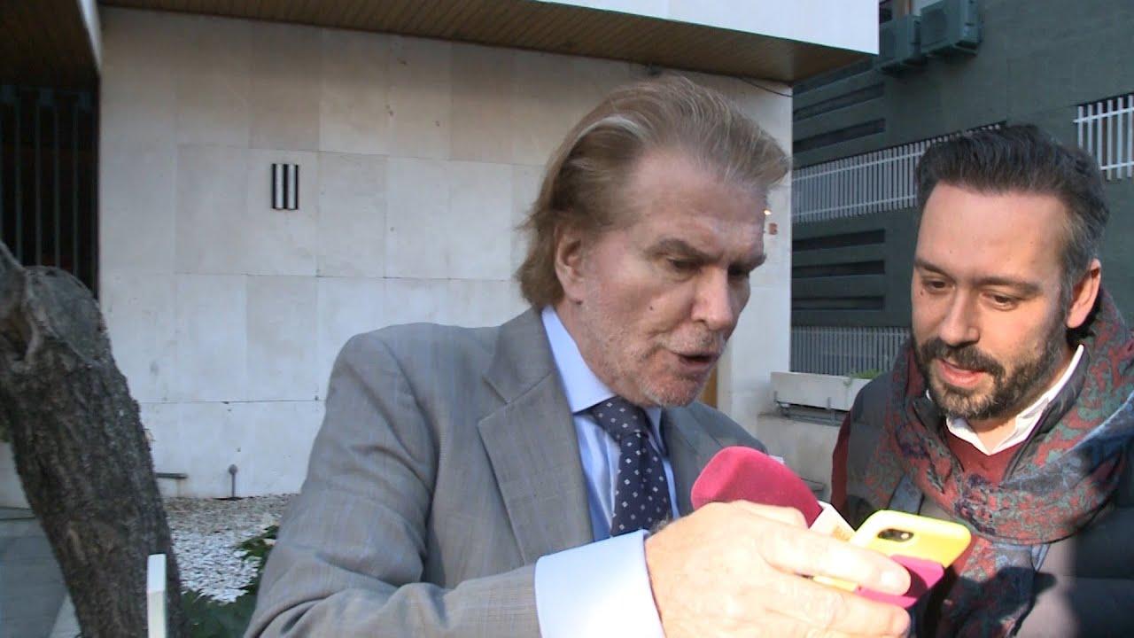Edmundo Arrocet reapareix públicment  Europa Press