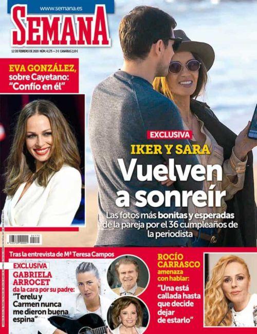 La filla d'Edmundo Arrocet, a la portada de la revista 'Semana'