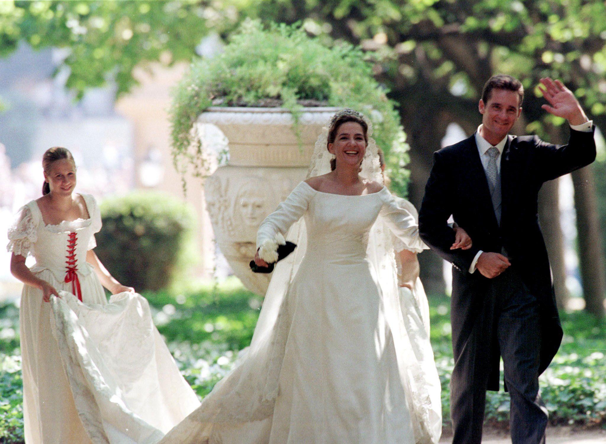 Iñaki Urdangarin i la infanta Cristina, el dia de la seva boda   Europa Press