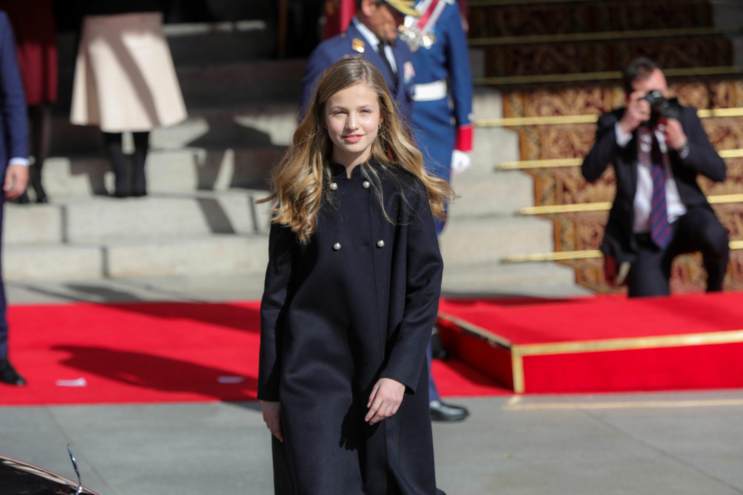 Elionor arriba a la inauguració de la legislatura al Congrés   Europa Press