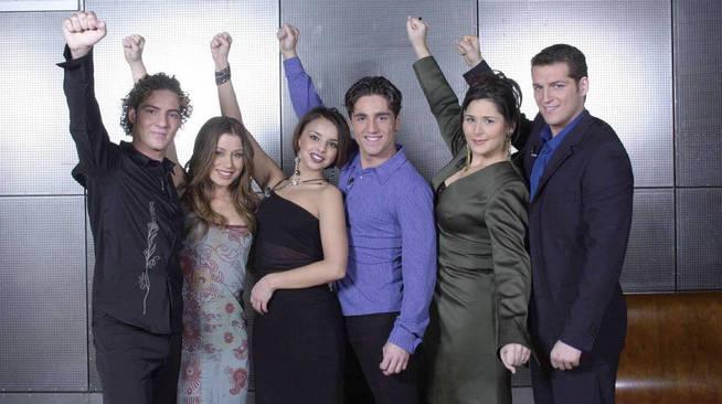 Els finalistes d'OT 1   TVE