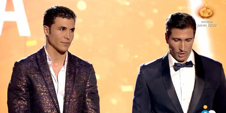 Kiko Jiménez i Gianmarco, a la final de 'El tiempo de descuento'  Telecinco