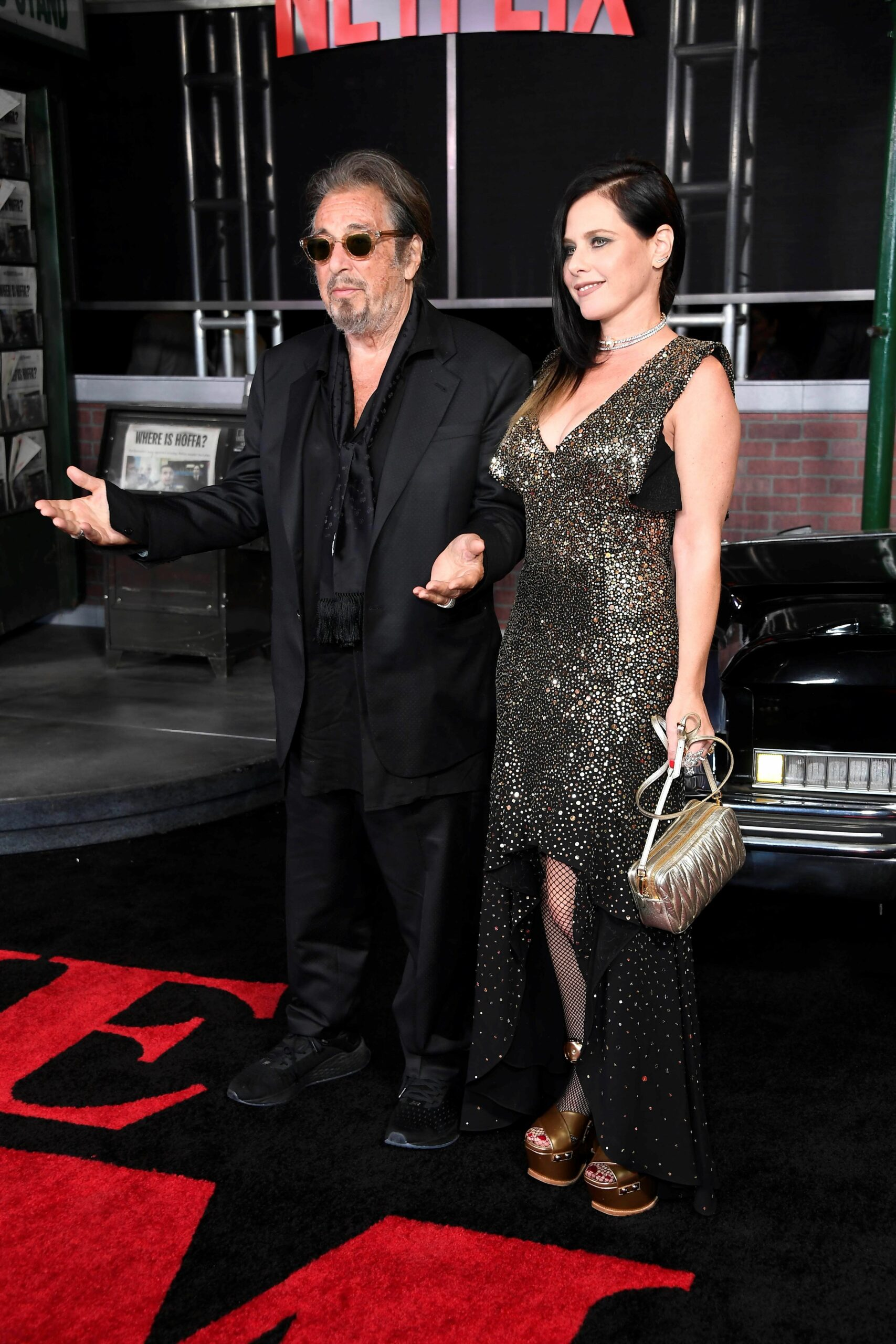 Al Pacino i Meital Dohan   Europa Press