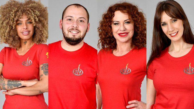 Els nominats de la primera gala de 'Supervivientes'   Telecinco