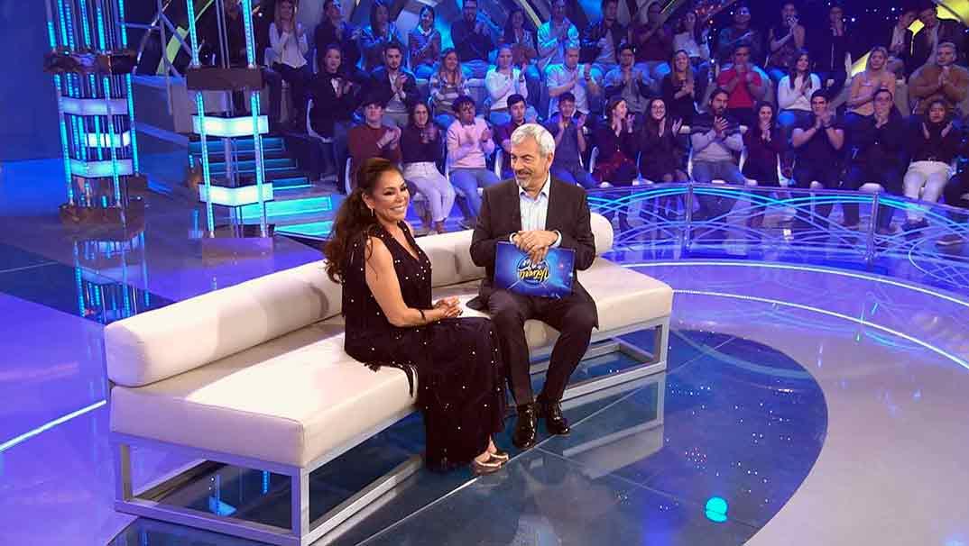 Carlos Sobera i Isabel Pantoja a 'Volverte a ver'   Telecinco