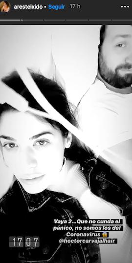 Ares Teixidó ingressa a l'hospital   Instagram