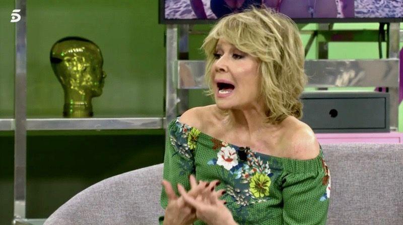 Mila Ximénez, enfadada a 'Sálvame'   Telecinco