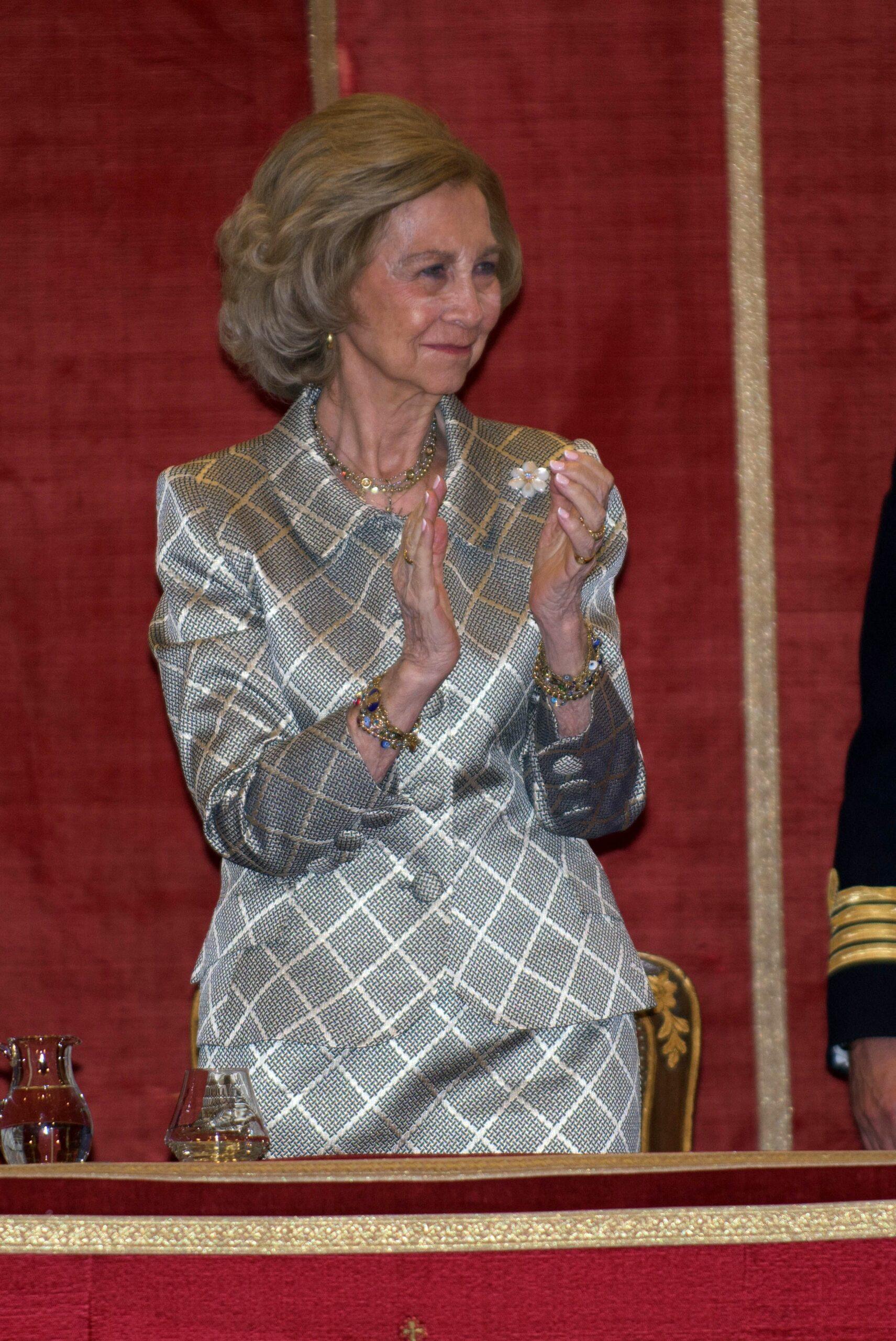 La reina Sofia, en un entrega de premis   Europa Press