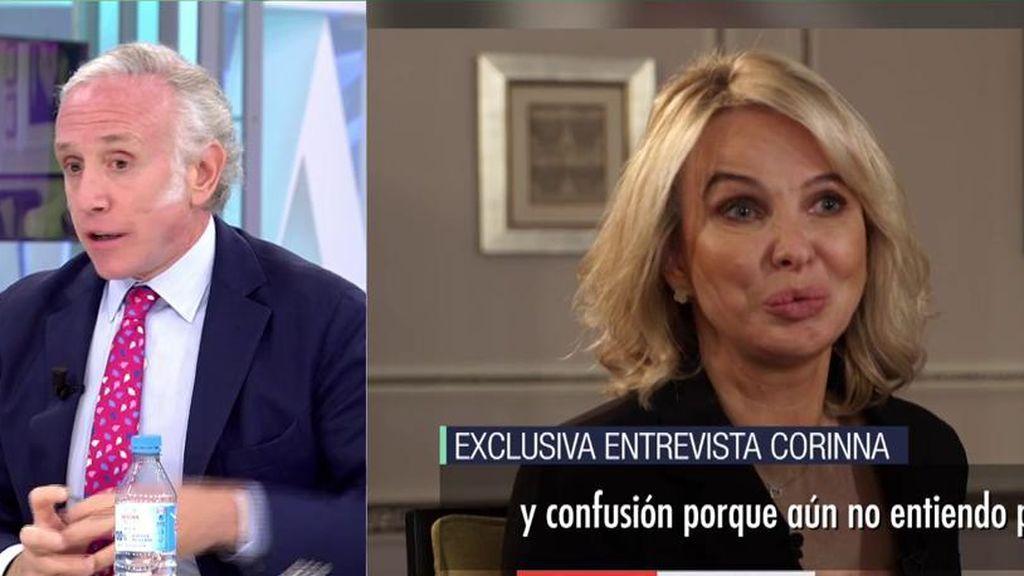 Eduardo Inda entrevista Corinna   Telecinco
