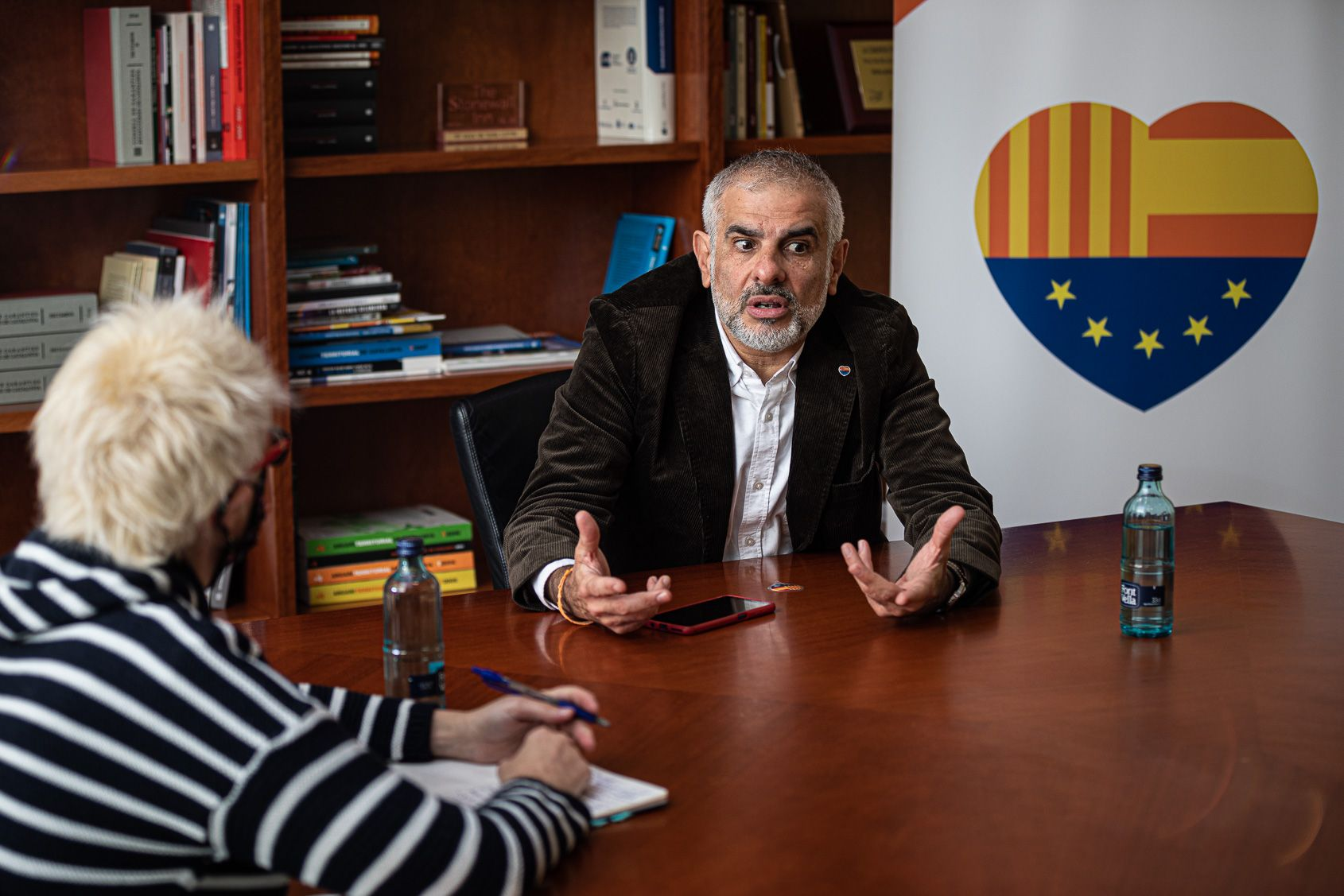 Cs assegura que al Parlament hi ha actituds d'extrema dreta en la bancada independentista JORDI BORRÀS
