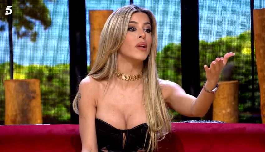 Oriana a 'La casa fuerte'   Telecinco
