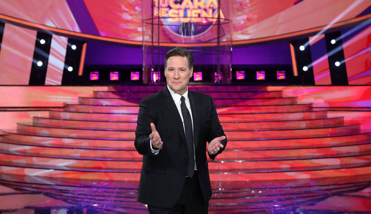 Carlos Latre, en una foto promocional de 'Tu cara me suena'   Antena 3