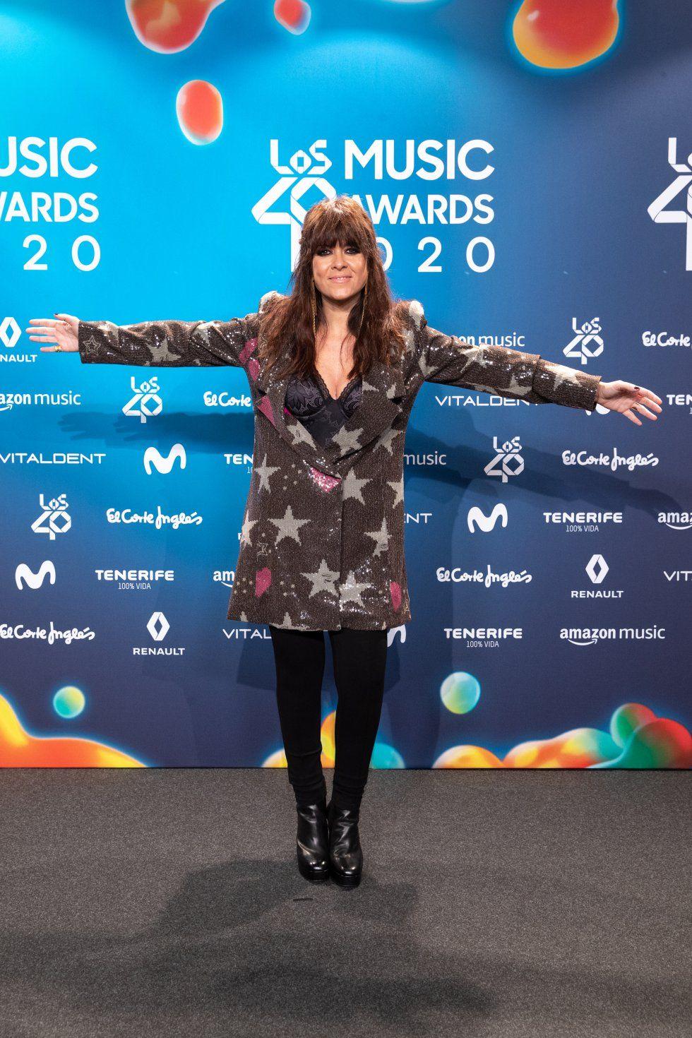 Vanesa Martín, convidada als premis Los 40