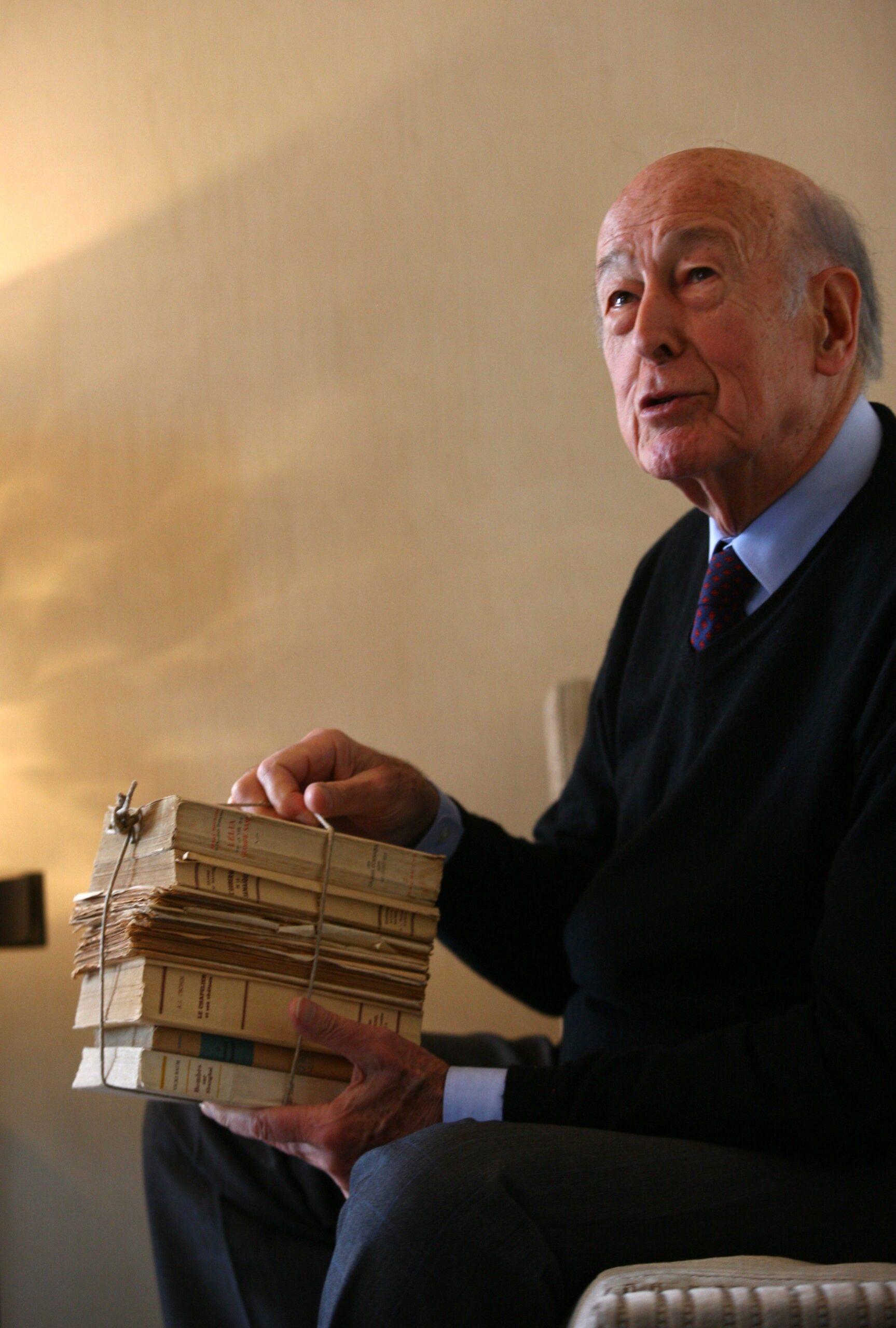 Valéry Giscard d'Estaing en una imatge del 2010 / Europa Press