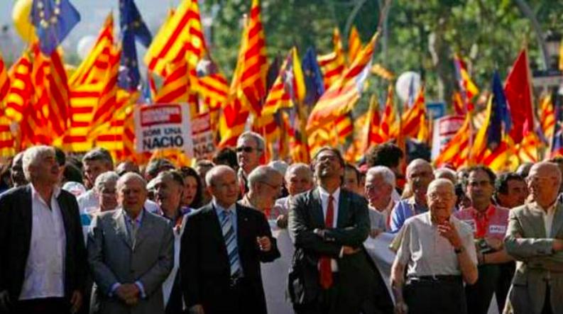 Manifestació contra la sentència de l'Estatut, el 2010