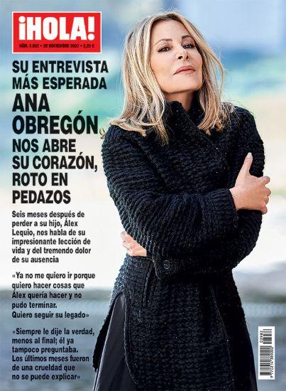 Ana Obregón a la portada de la revista '¡Hola!'