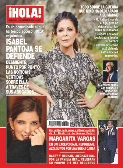 Isabel Pantoja es defensa a la revista '¡Hola!'