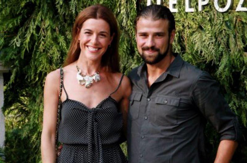 Raquel Sánchez Silva i Mario Biondo    Europa Press