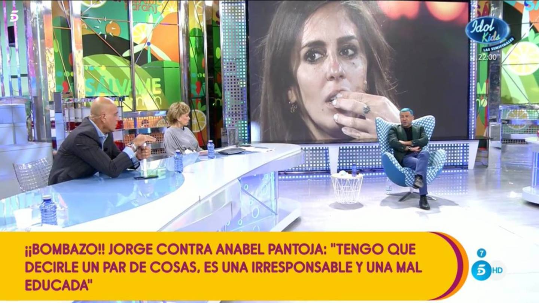 Jorge Javier Vázquez contra Anabel Pantoja   Telecinco