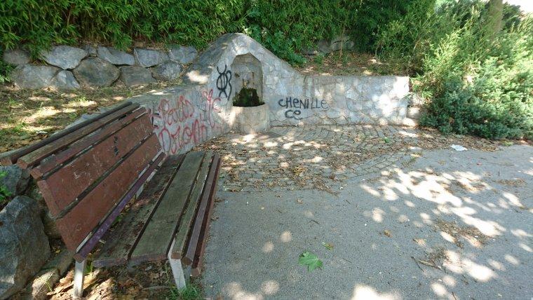 Font al parc de la Cogullada