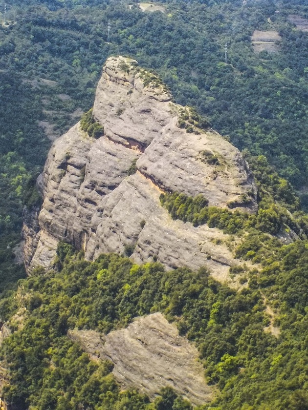Roca Salvatge des de Castellsapera