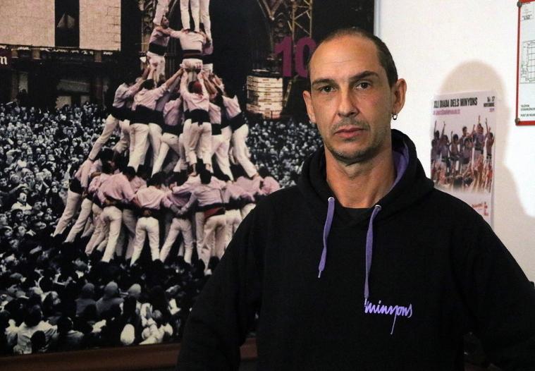 Jesús Rodríguez, president dels Minyons de Terrassa