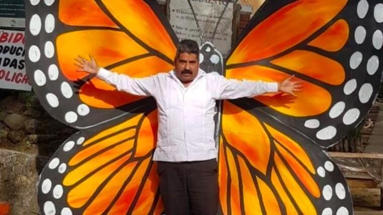 L'activista defensor de les papallones monarca, Homero Gómez
