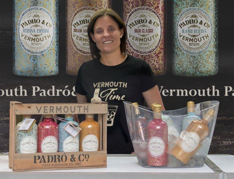 Montse Bové, amb la gamma Vermouth Padró & Co