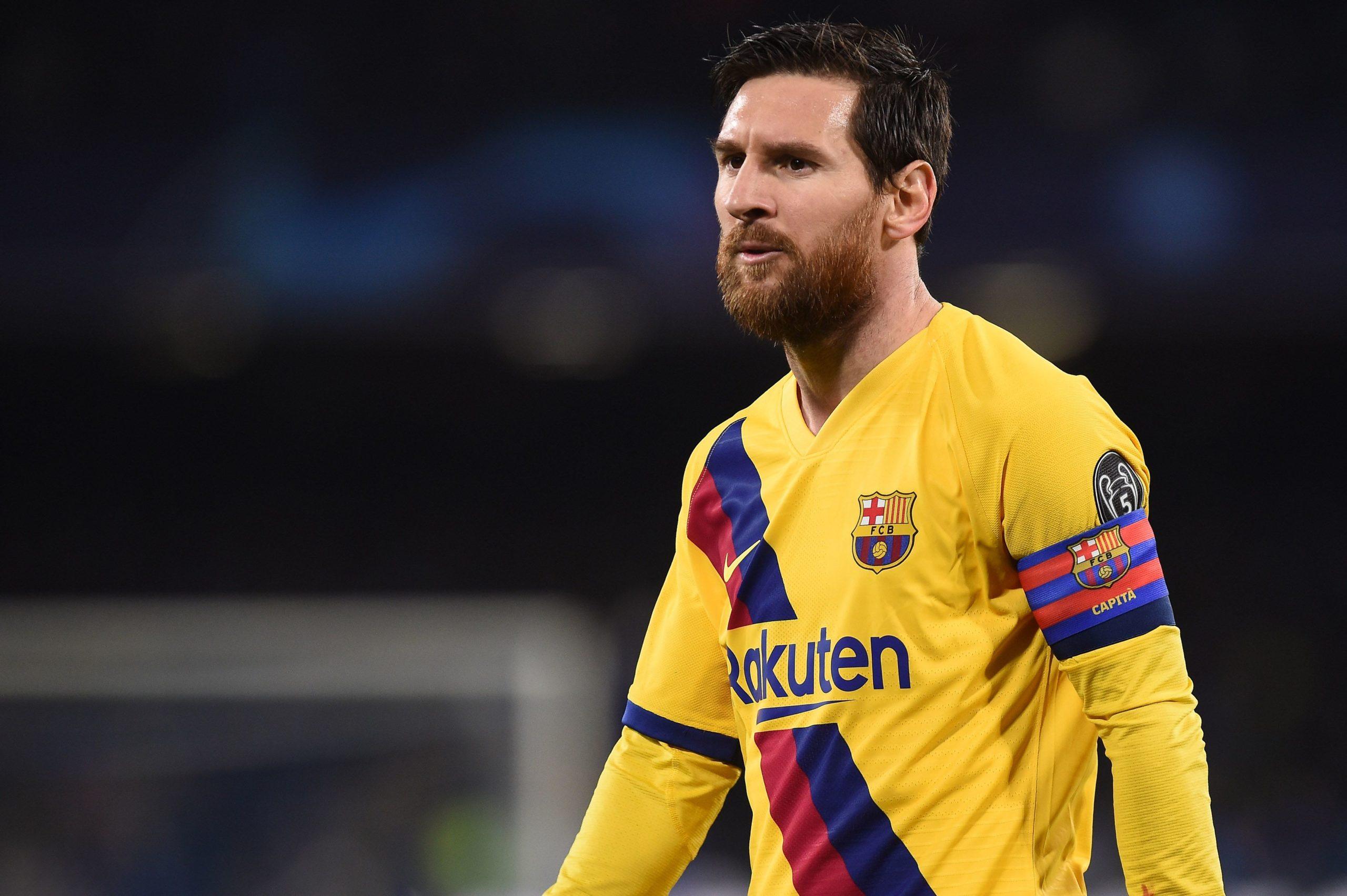 Messi, durant un partit de Champions | Europa Press