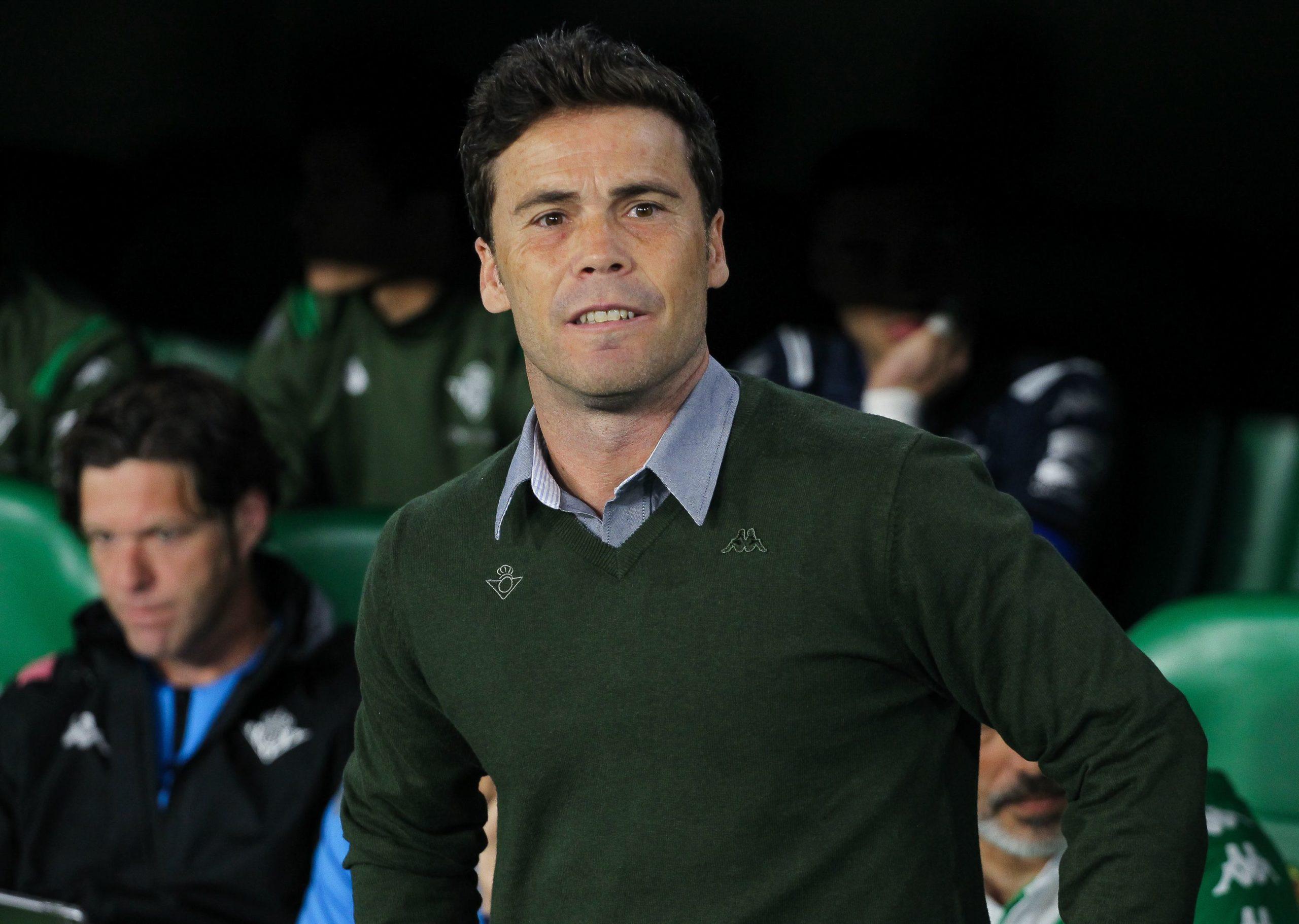 Rubi, entrenador del Betis |Europa Press