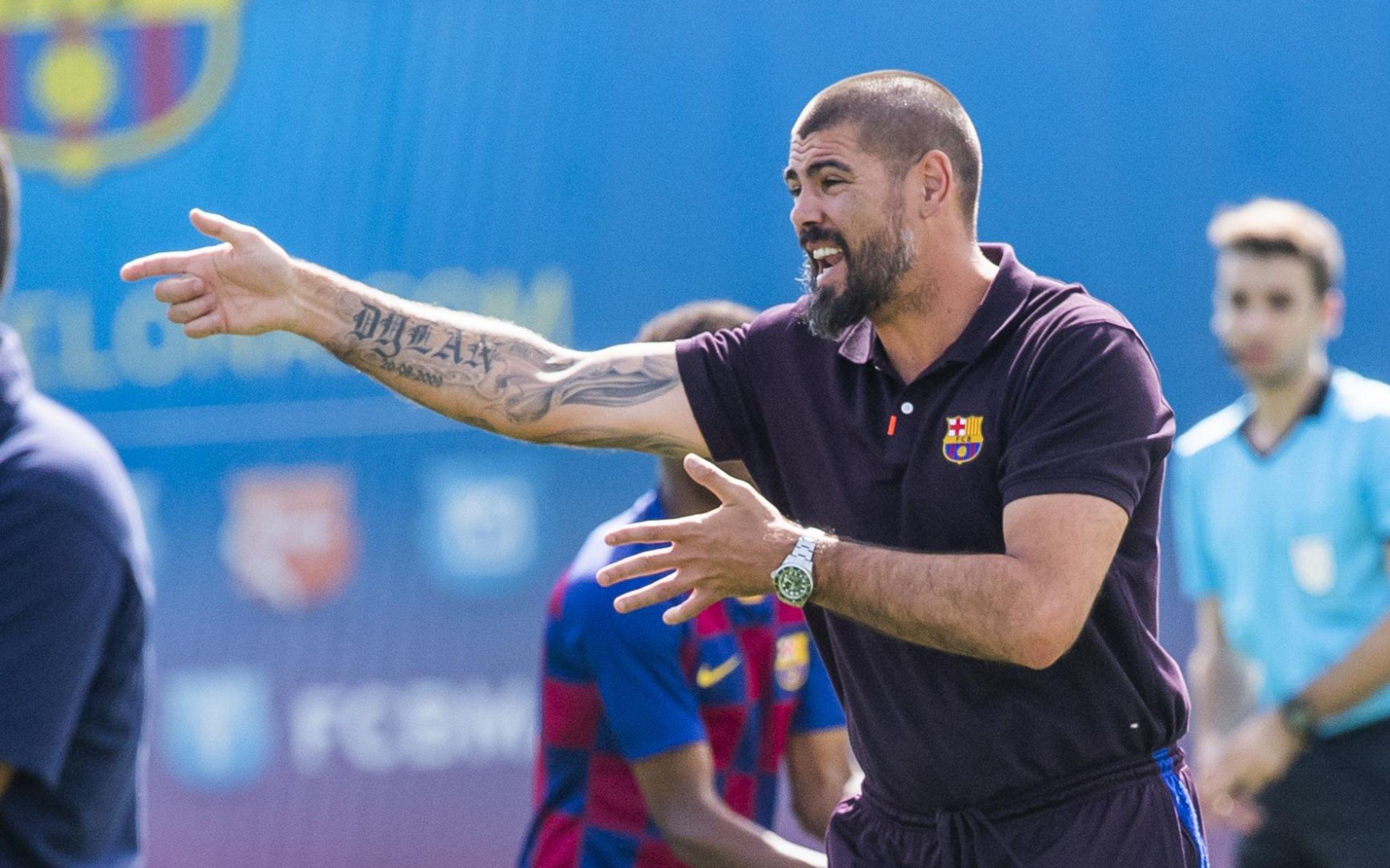 Valdés, en una imatge d'arxiu   FC Barcelona
