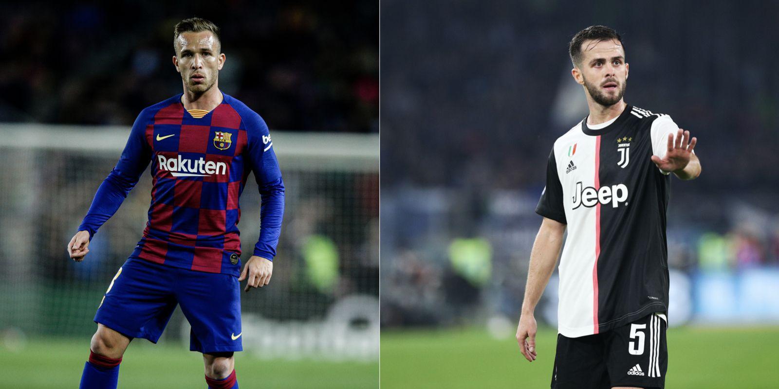 Arthur i Pjanic, els jugadors implicats en l'intercanvi entre el Barça i la Juventus | Europa Press