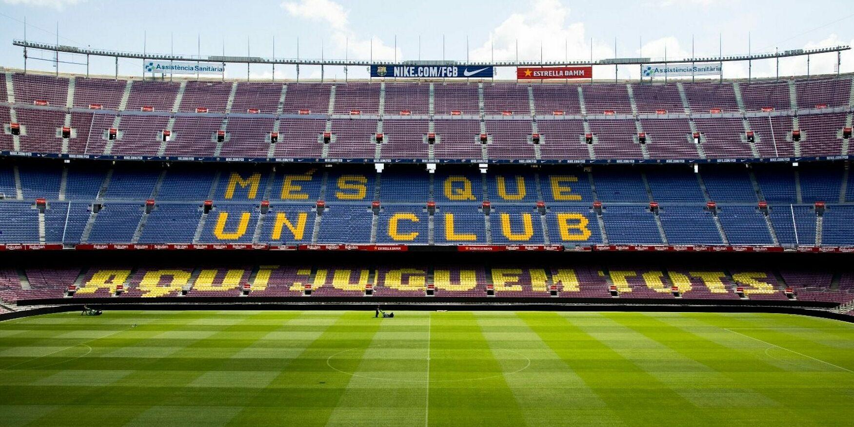 El Camp Nou, abans del partit entre el Barça i el Leganés | FC Barcelona