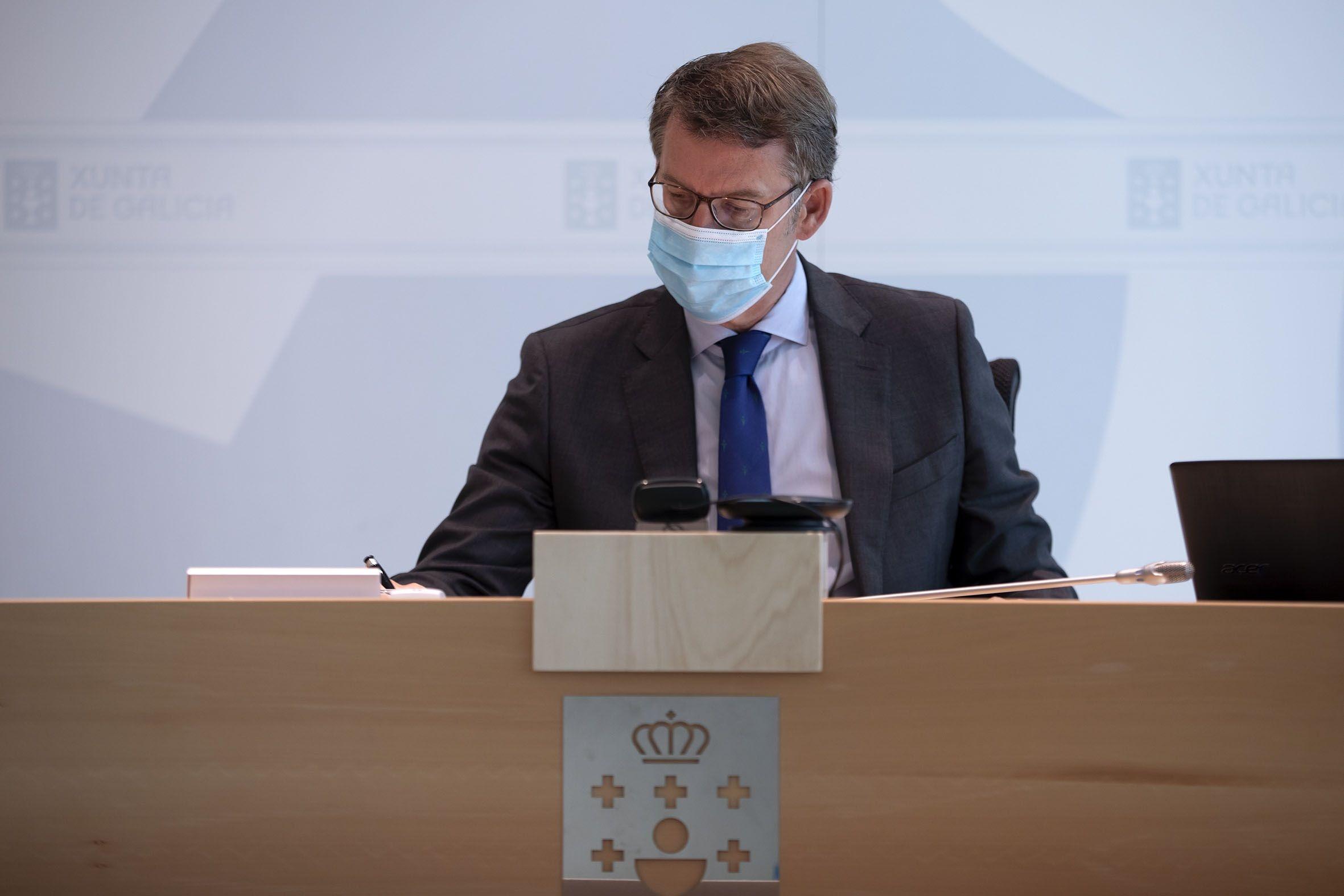Alberto Núñez Feijóo, president de la Xunta de Galícia | Europa Press