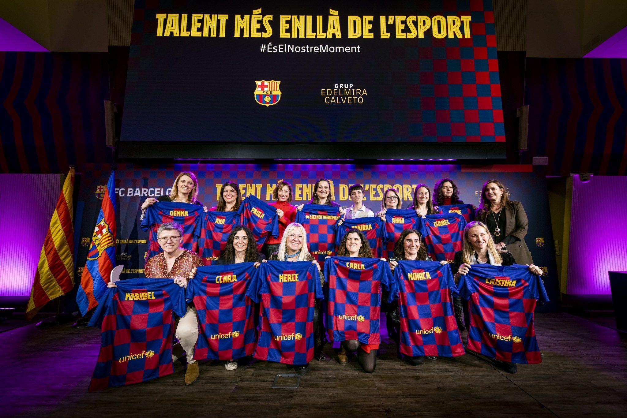 El Barça impulsa una campanya per donar visibilitat al talent femení |FC Barcelona