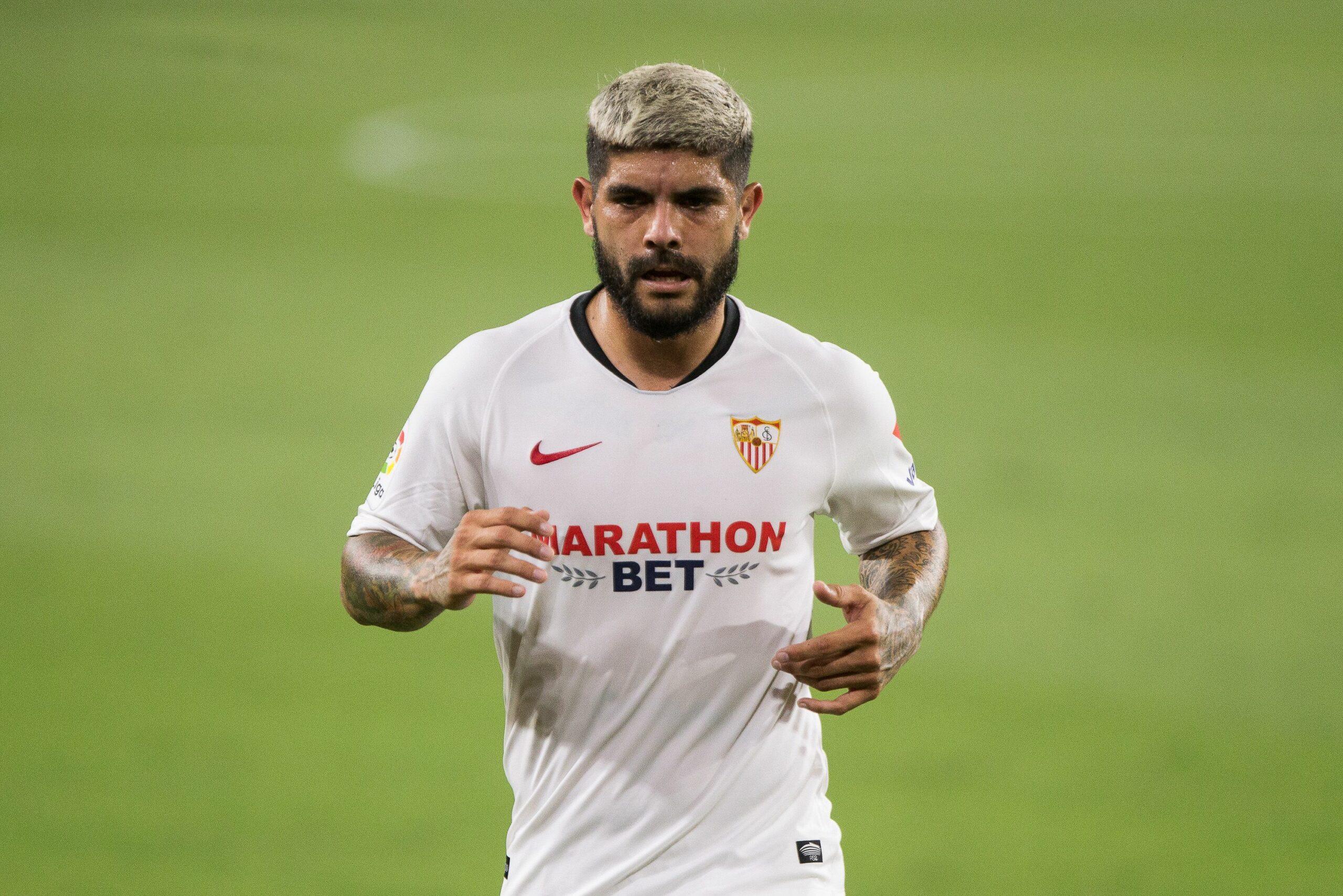 Ever Banega, jugador del Sevilla, durant un partit |Europa Press