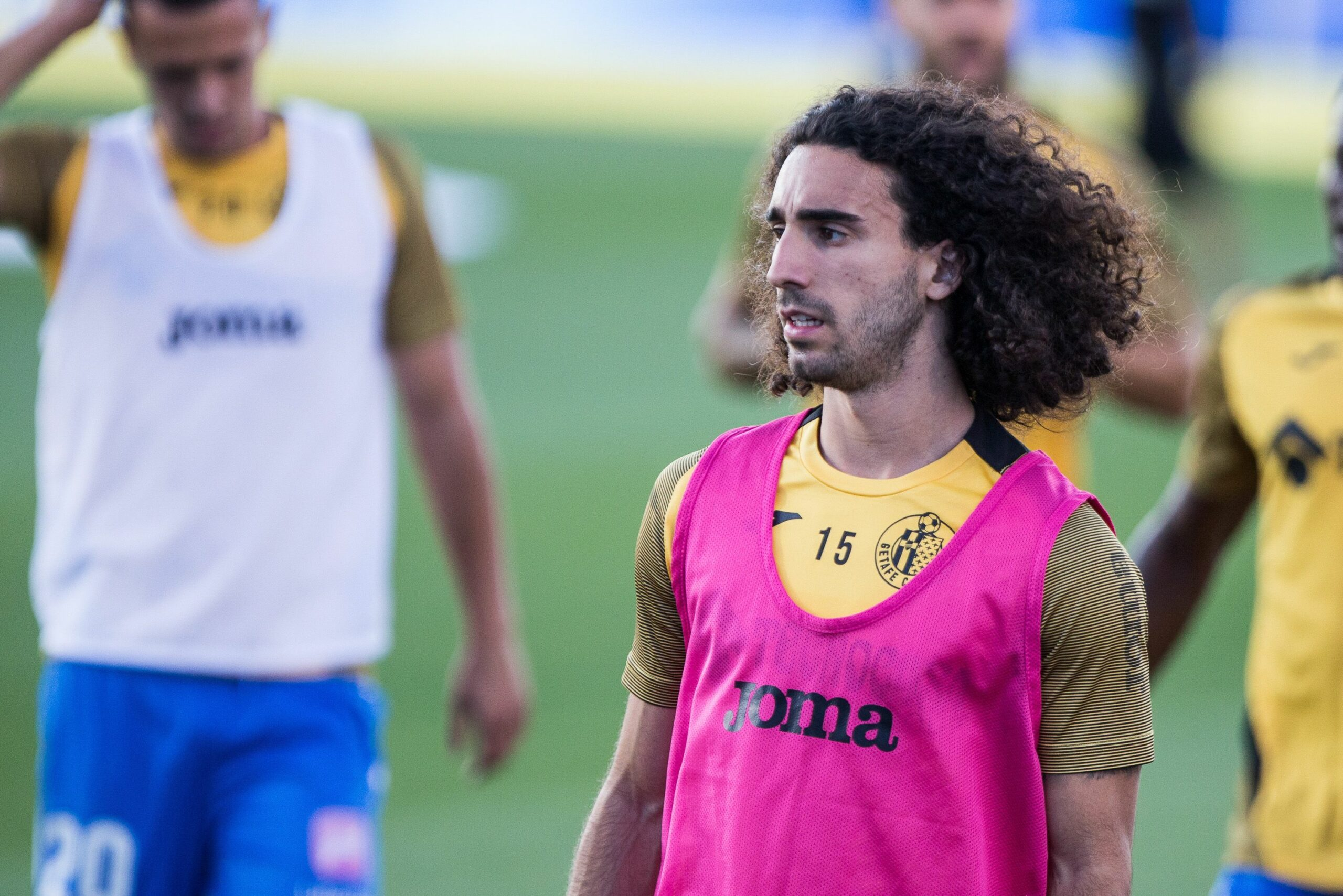 Marc Cucurella, abans d'un partit | Europa Press