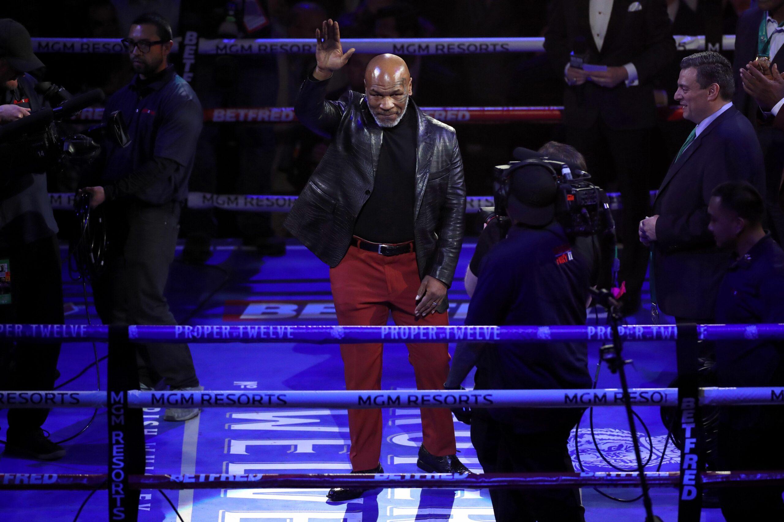 Mike Tyson, en arxiu |Europa Press