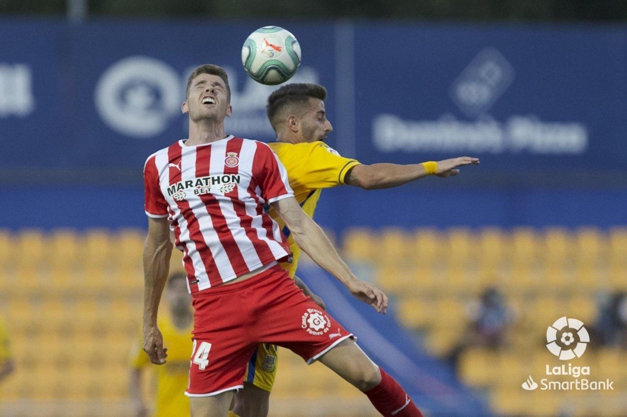 Gumbau, durant el partit contra l'Alcorcón | Girona FC