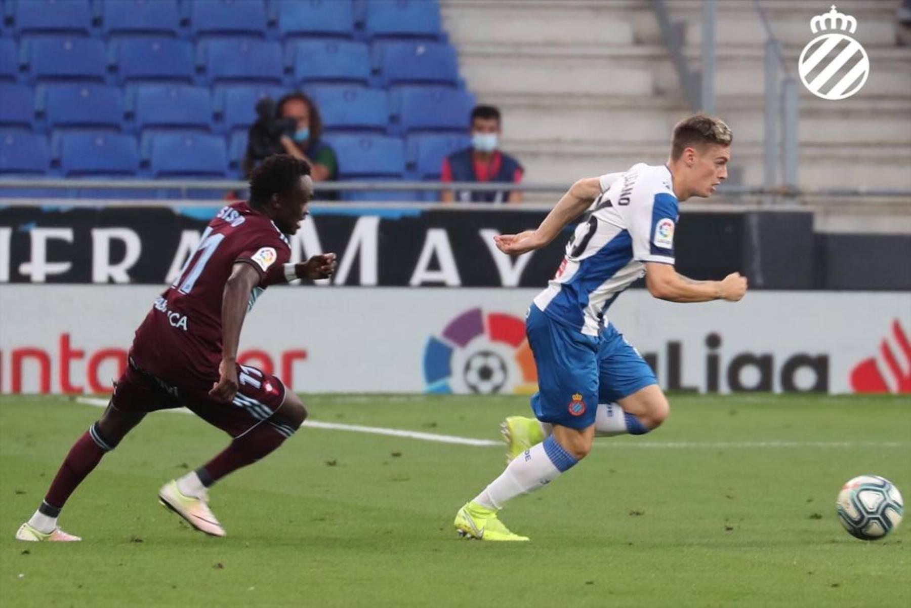 Bernardo, durant el partit davant el Celta | RCD Espanyol