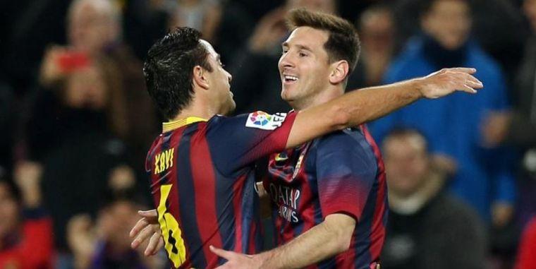 Messi i Xavi, en una imatge d'arxiu | Europa Press