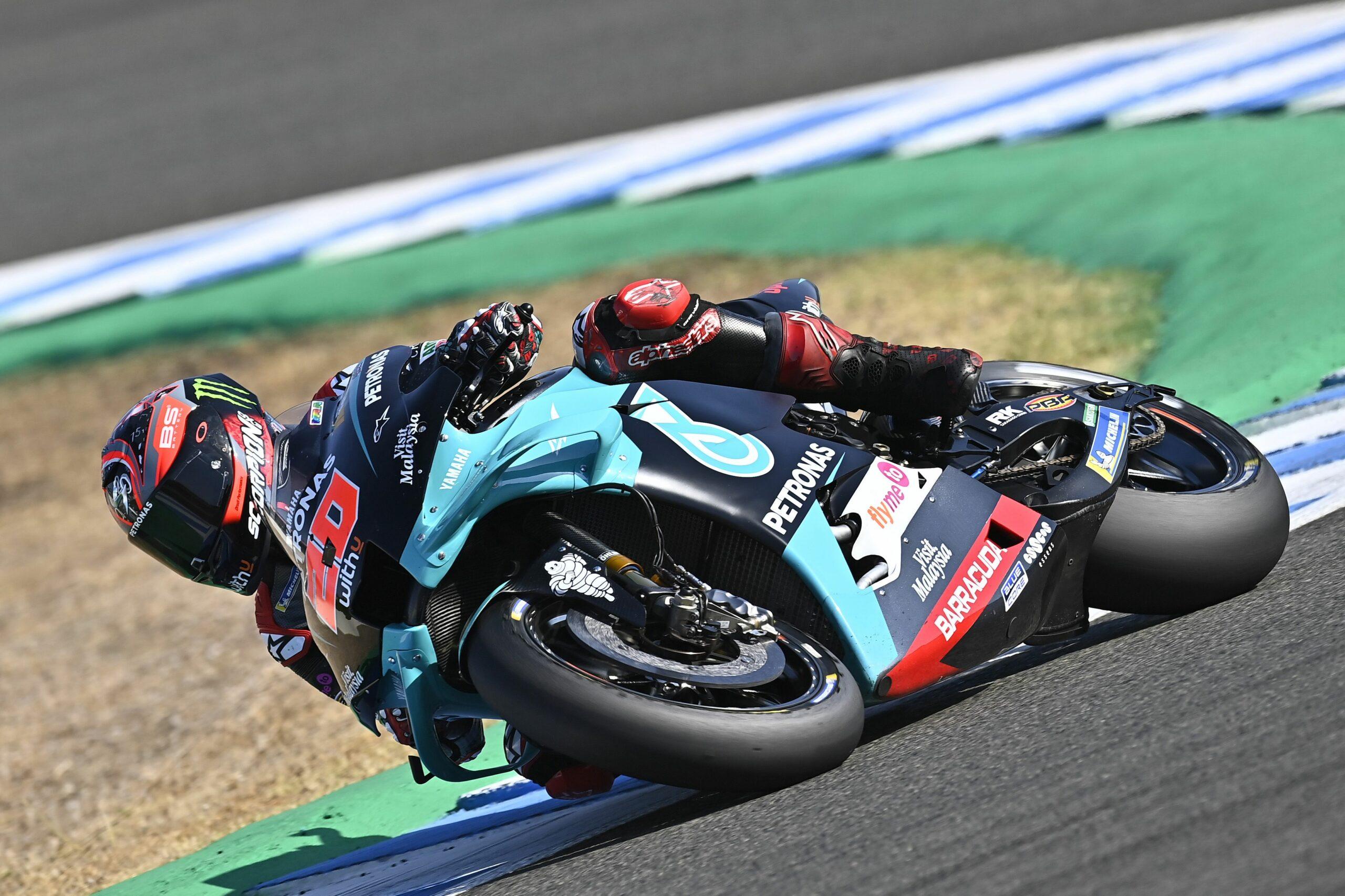 Quartararo, al Gran Premi de Jerez | Europa Press