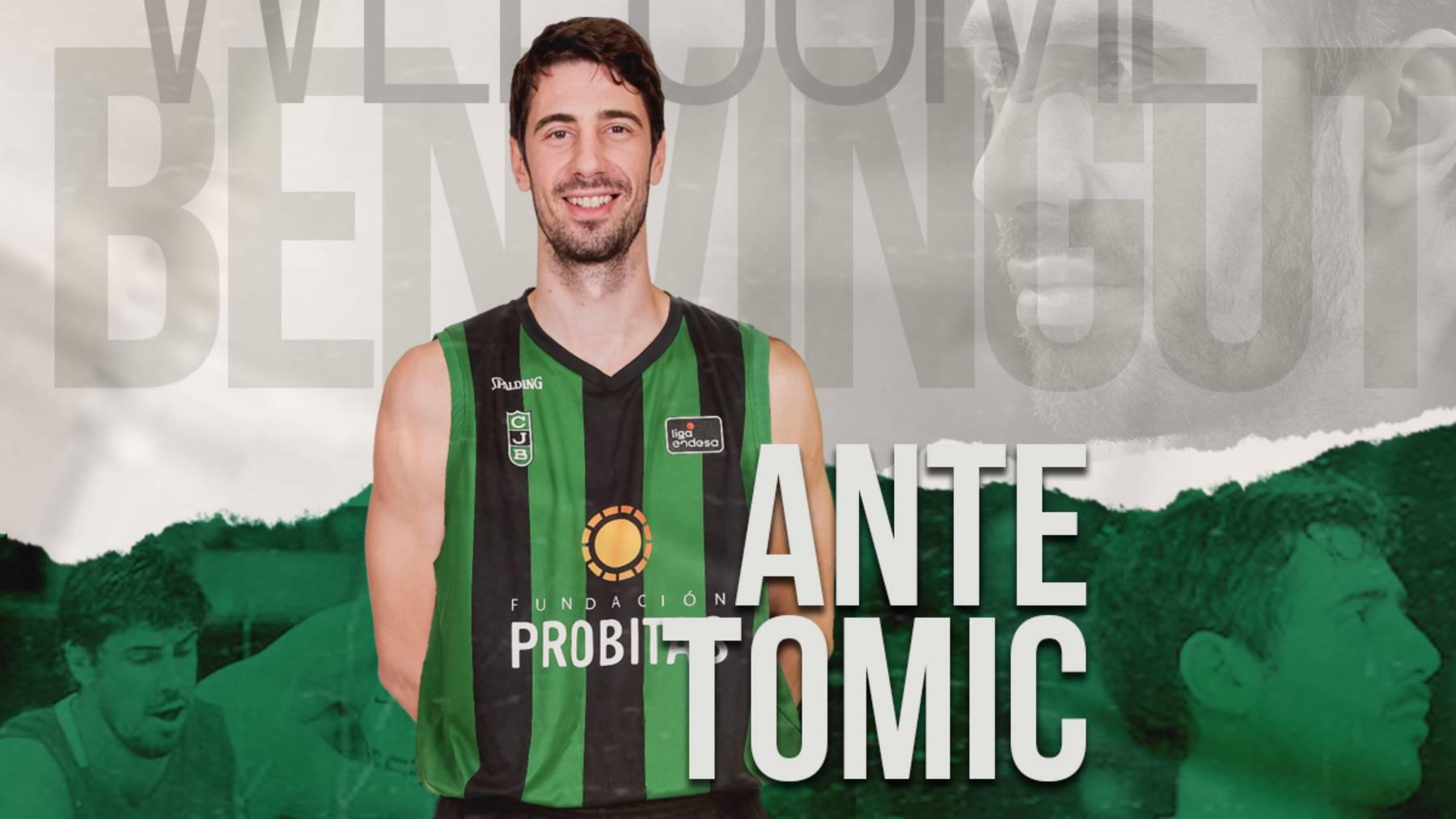 Ante Tomic, amb la samarreta de la Penya | Club Joventut de Badalona