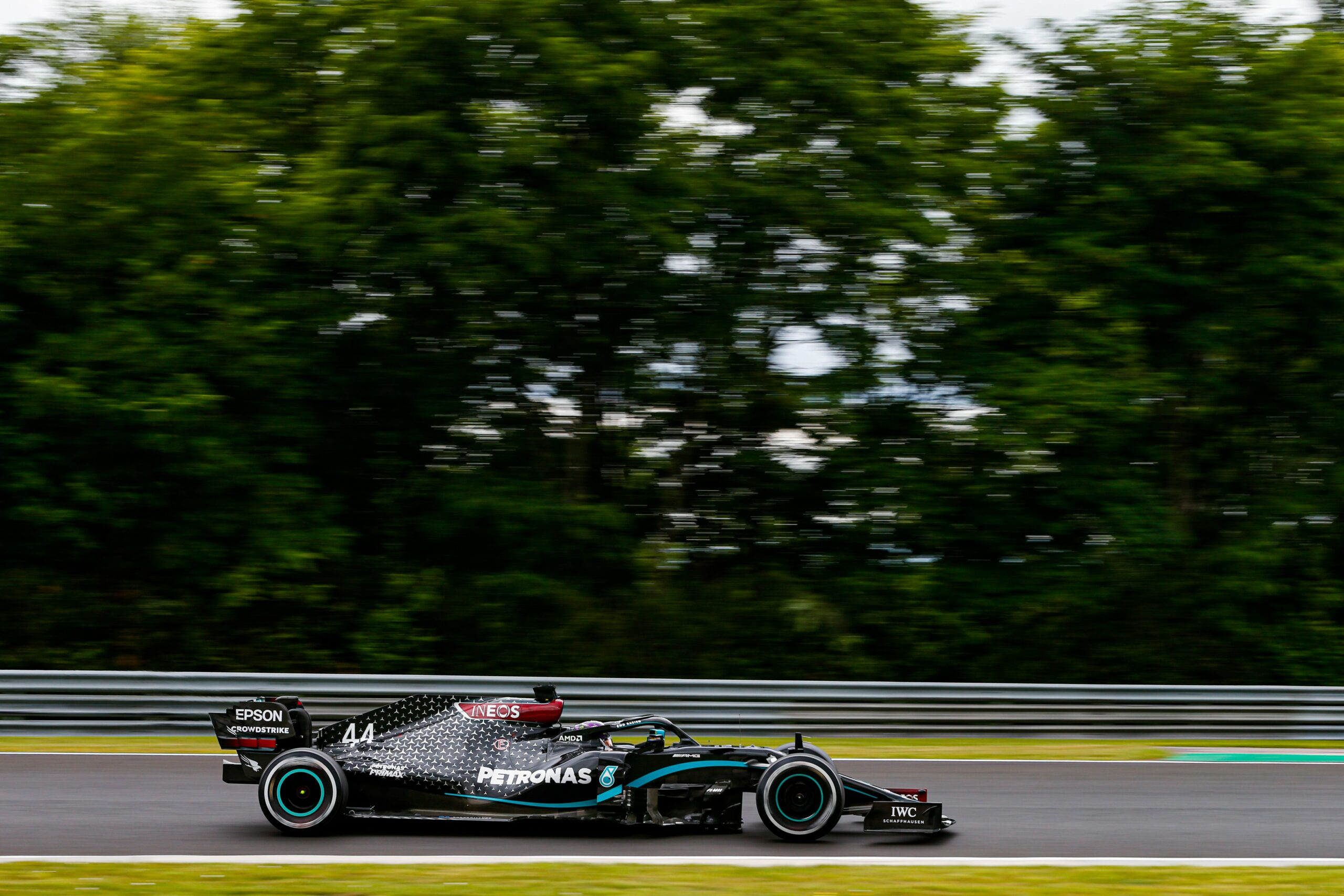 Lewis Hamilton, al circuit d'Hongria . Europa Press