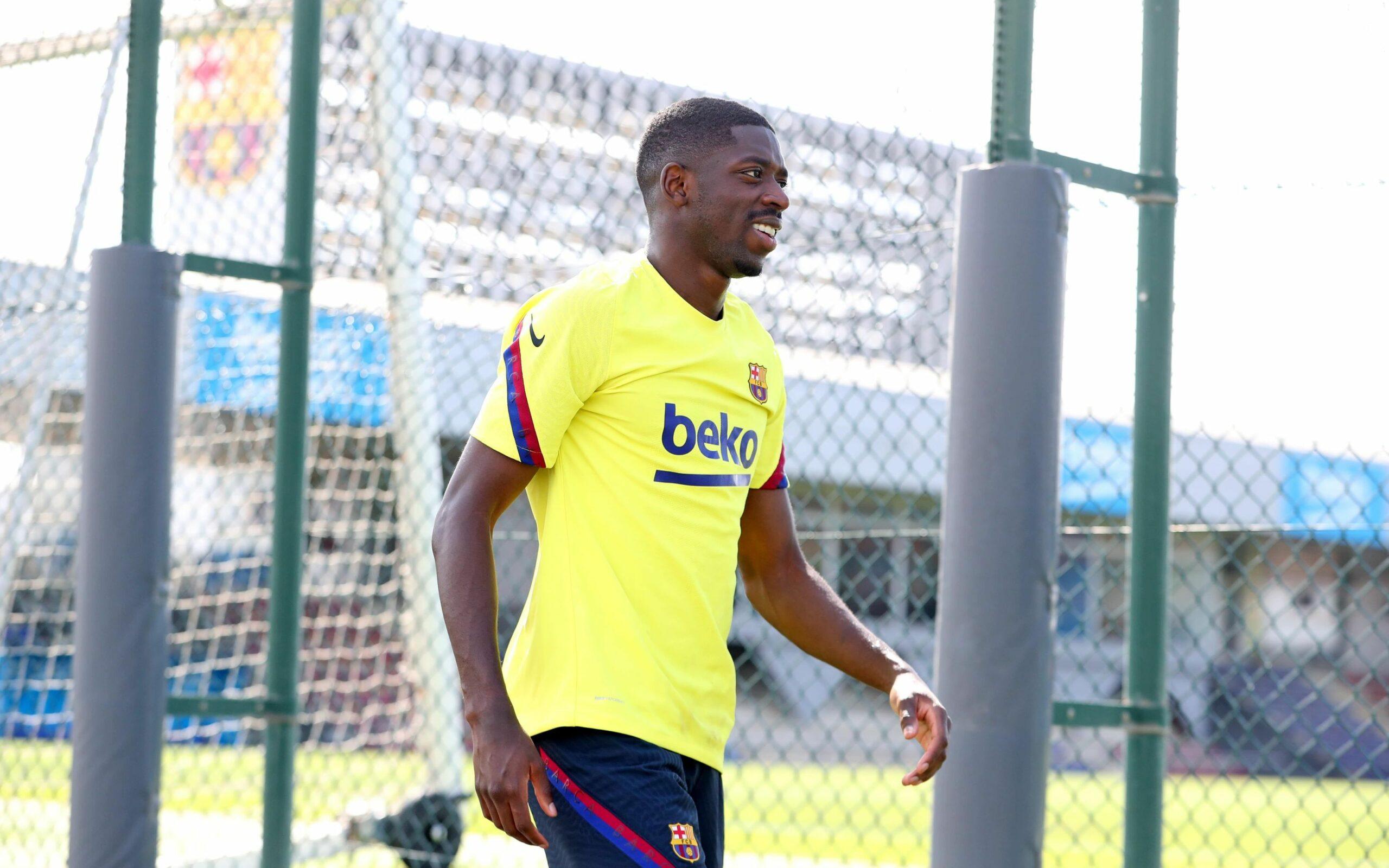 Ousmane Dembélé, a la Ciutat Esportiva Joan Gamper | FC Barcelona